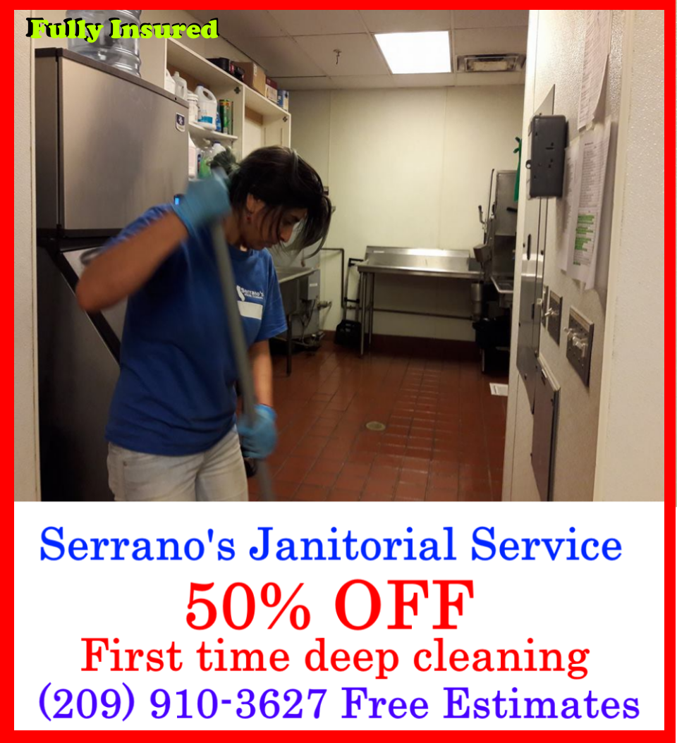 Janitorial Service Stockton California