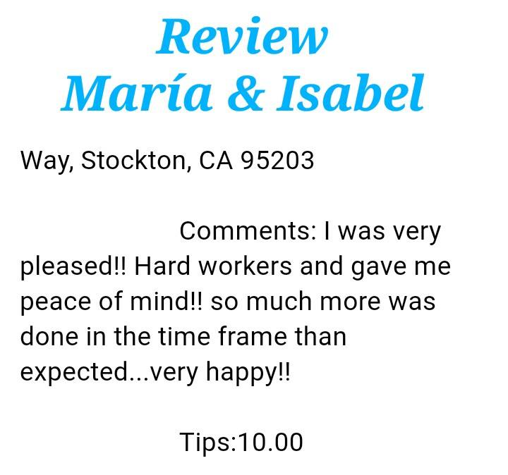 Review Serranos Cleaning Stockton Ca